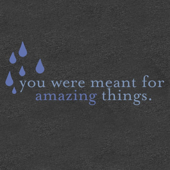 "Image of ""You Were Meant For Amazing Things"" Shirt"