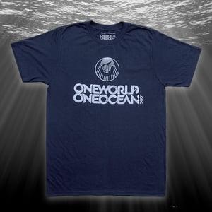 Image of Organic Logo Crewneck (navy)