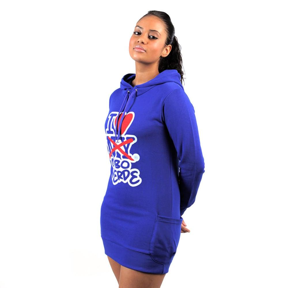 Image of Women Royal Blue SweatTunik