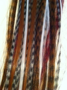 Image of Natural Feather Extension Mix
