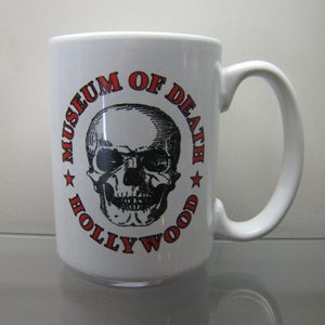 Image of Museum of Death Logo Mug