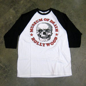 Image of Museum Of Death Hollywood Logo (Black) - Jersey Shirt