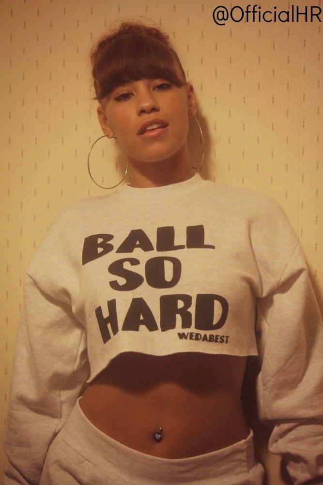 Image of BALL SO HARD   misshayleeray EDITION