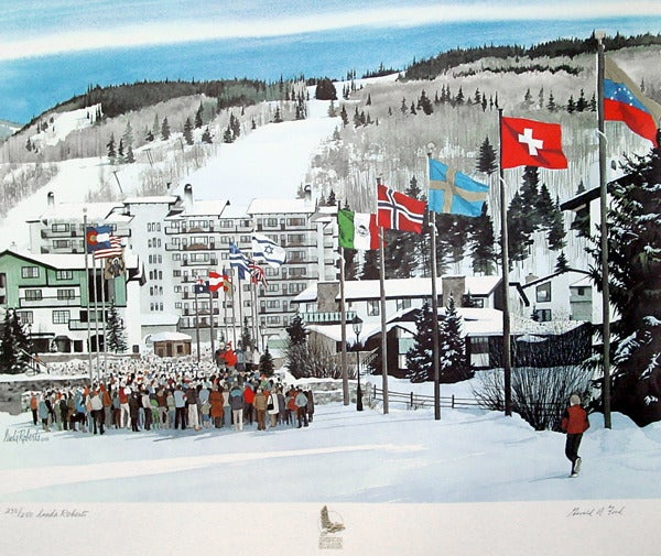 Image of American Ski Classic (signed by President Gerald Ford)