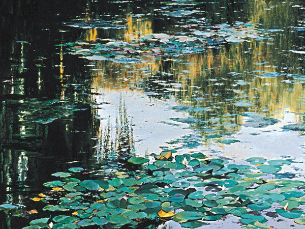"Image of ""Autumn at Giverny"" giclee"