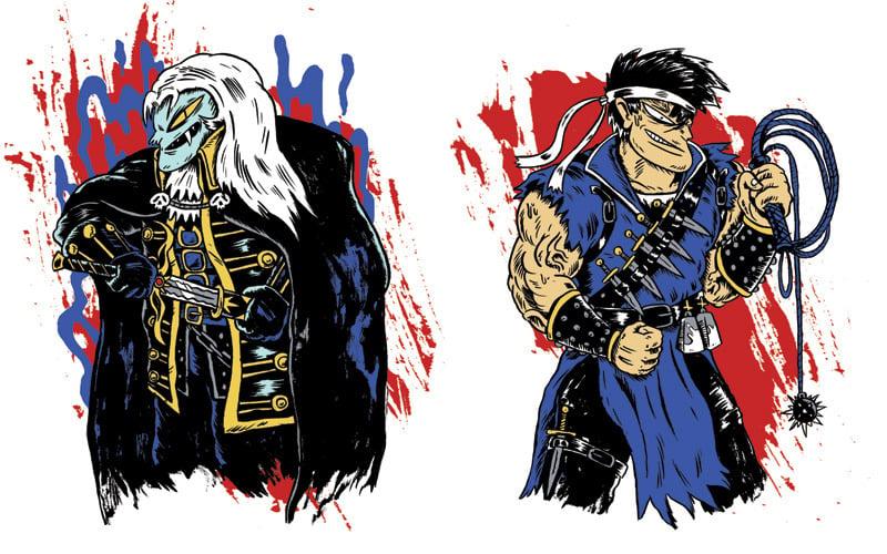 Vampire Hunting Bros! Screen Print