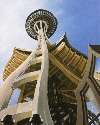 Image of Space Needle Limited Edition Giclee