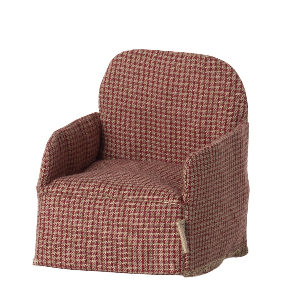Image of Maileg - Chair Mouse Red (Pre-order)