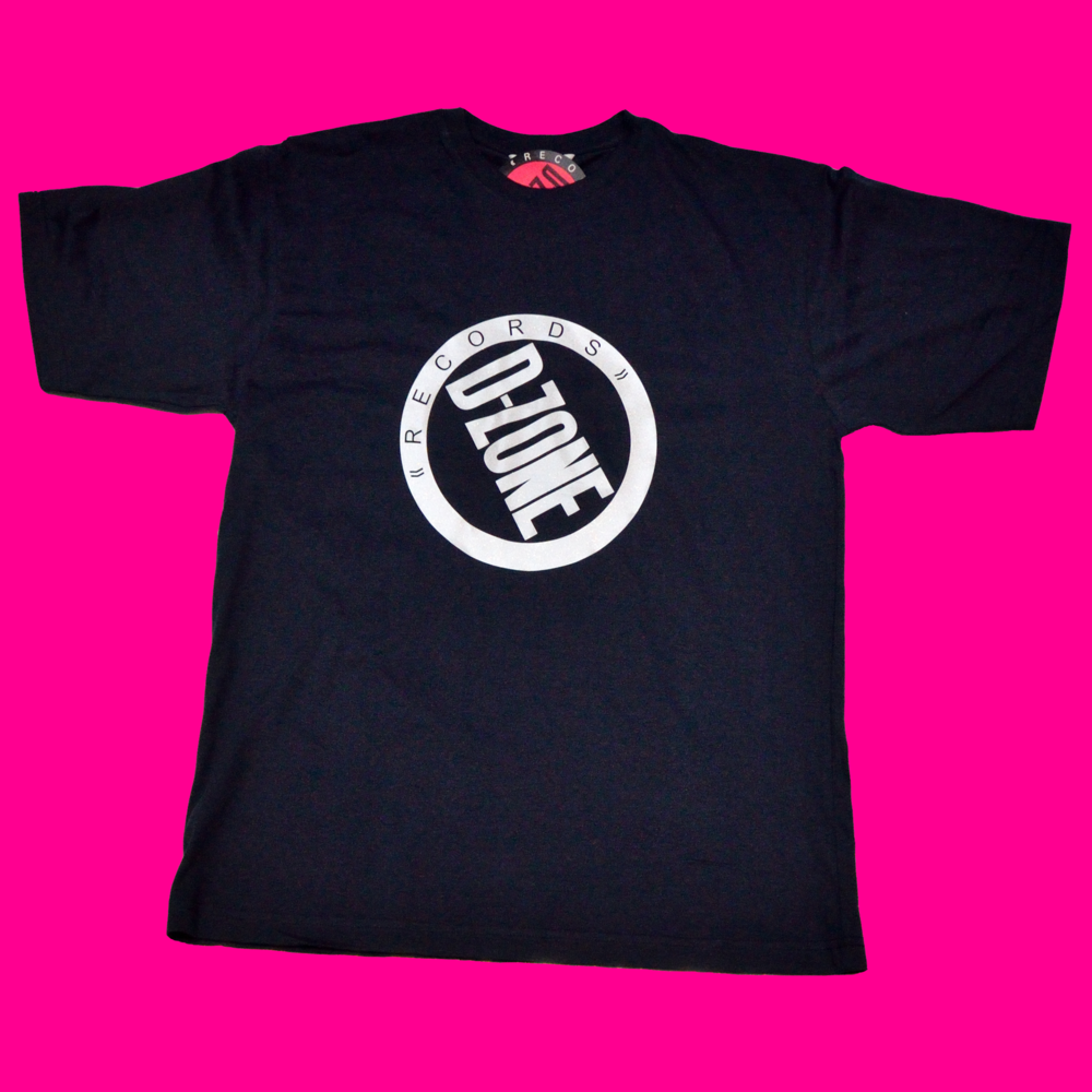 Image of d-zone reflective silver logo t-shirt (Black, White, Grey or Navy Shirt)