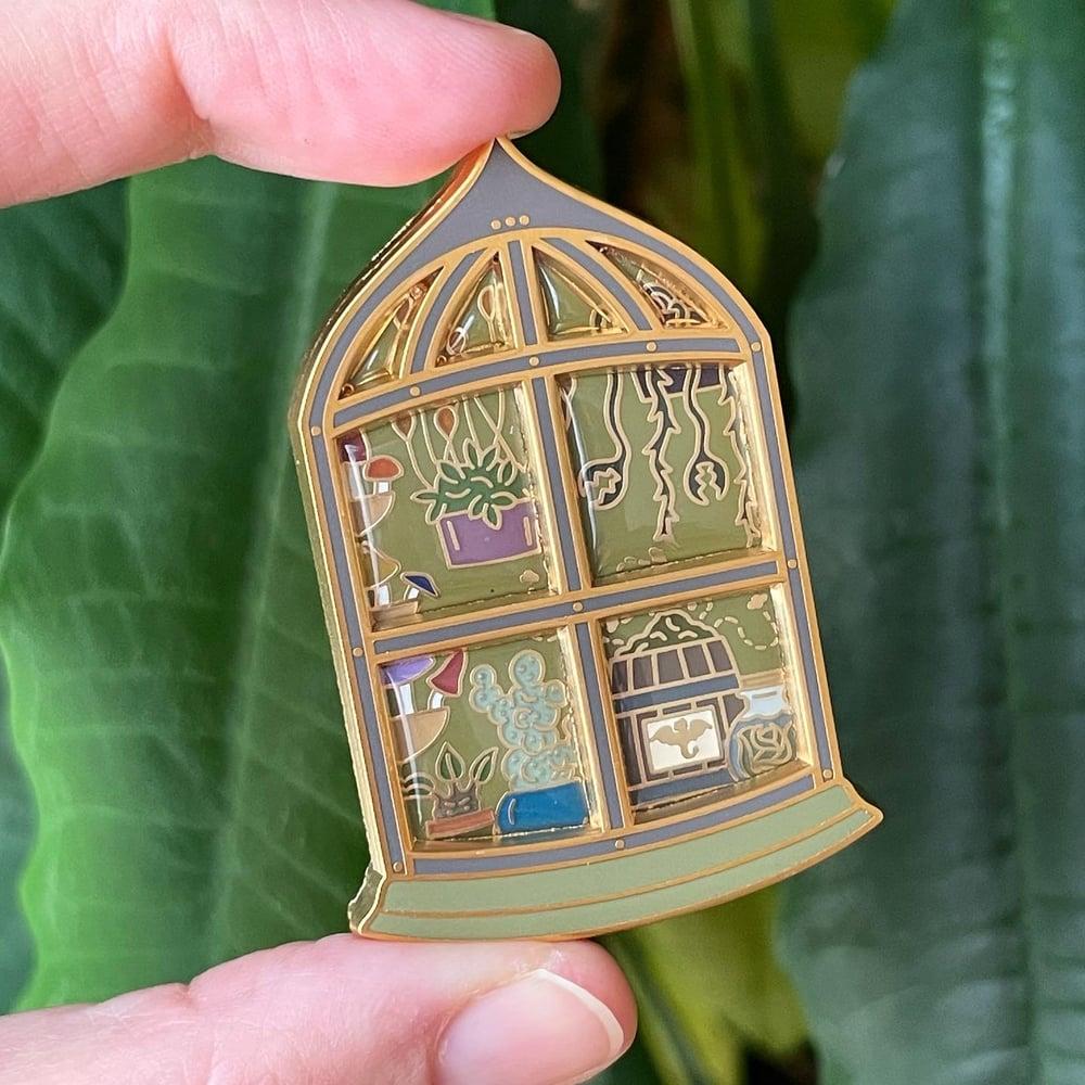 Image of Botaical Shop Window Pin