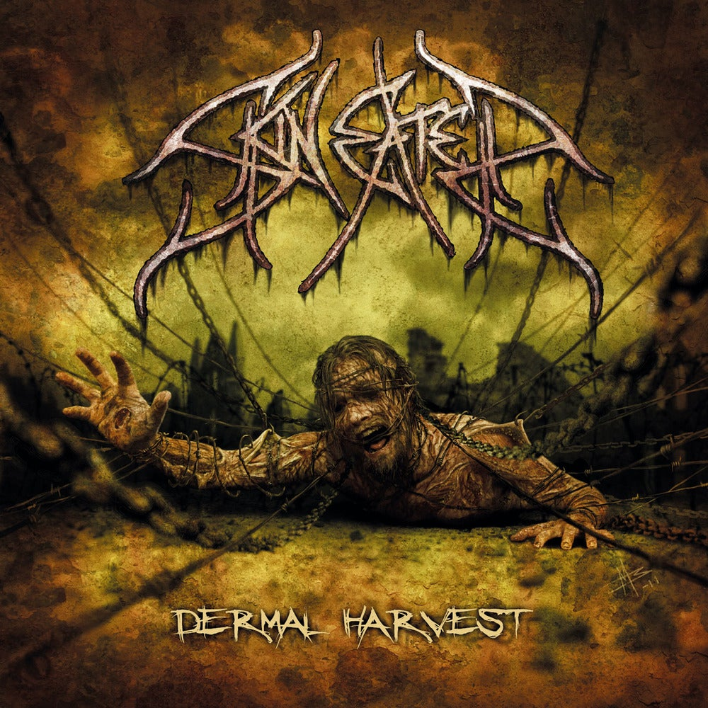 "SKINEATER ""Dermal Harvest"" CD"