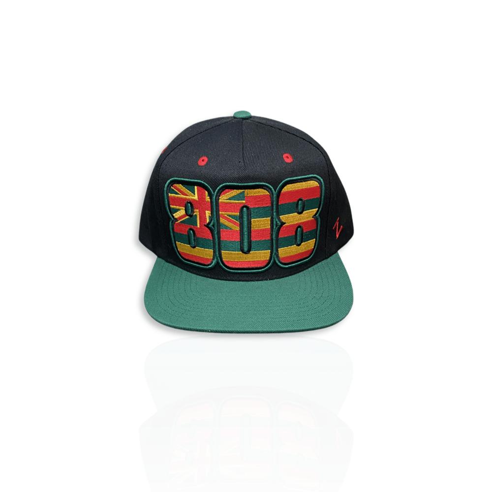 Image of 808 Reggae snapback