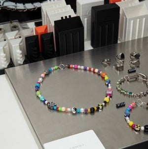 Image of ARMO - Candy Check Source Necklace