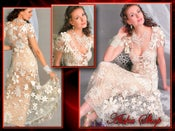 Image of Crochet Patterns eBook Irish Lace Dresses Wedding Diagram FREE SHIPPING - JMEEE