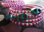 Image of Deadly Carnival Wrap Bracelets