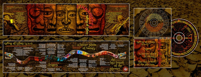 Image of Calling All Tribes CD out 30.11.2012