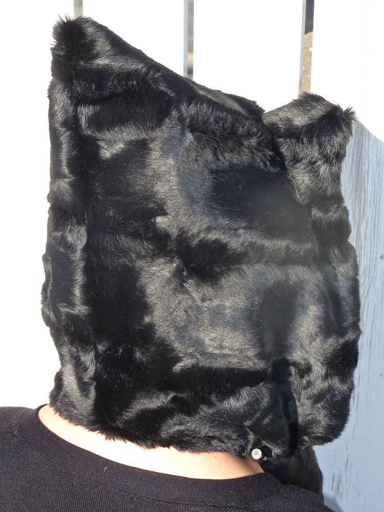 Image of Satin Black Panther Bolli Bear