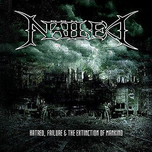"Image of ""Hatred, Failure & The Extinction of Mankind"" - Audio CD 2008"