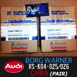 Image of BORG WARNER - OEM Audi RS-K04 025/026 CHRA -center sections-