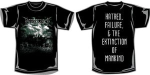 "Image of ""Hatred, Failure & The Extinction of Mankind"" Artwork Shirt"
