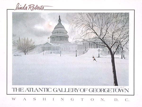 Image of Winter in Washington DC Poster