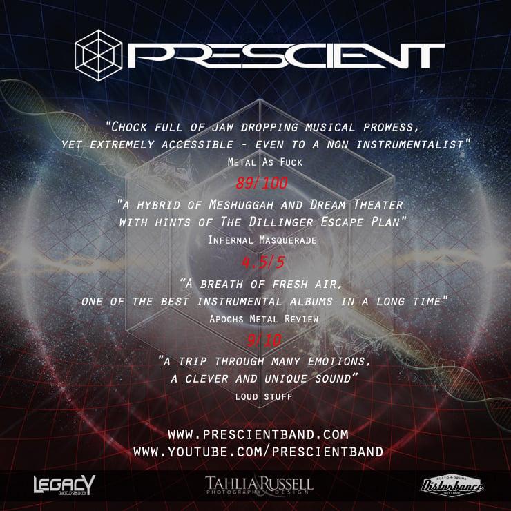 Image of Prescient EP 'The Polynomial Framework' Physical & Digital copies + FREE BONUS CD