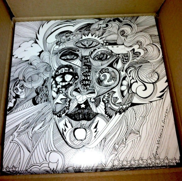 """Image of Satisfaction Limited Edition 7"""""""