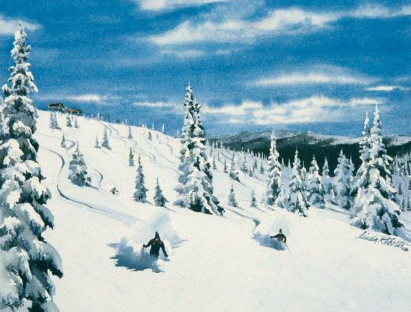 Image of Winter Park Colorado (Lunch Rock)