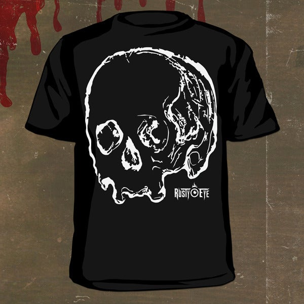 Image of Rusty Eye Skull T-Shirt