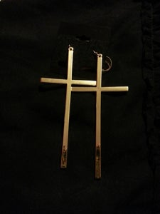 Image of Glam Cross Earrings