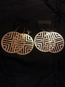 Image of Aztec Earrings