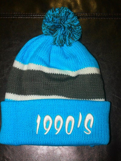 Image of SUPER BLUE 1990's #POMBEANIE LIMITED