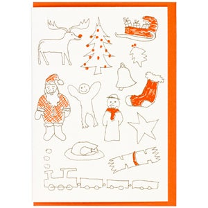 Image of Christmas Doodles