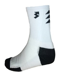 Image of White Crew Socks