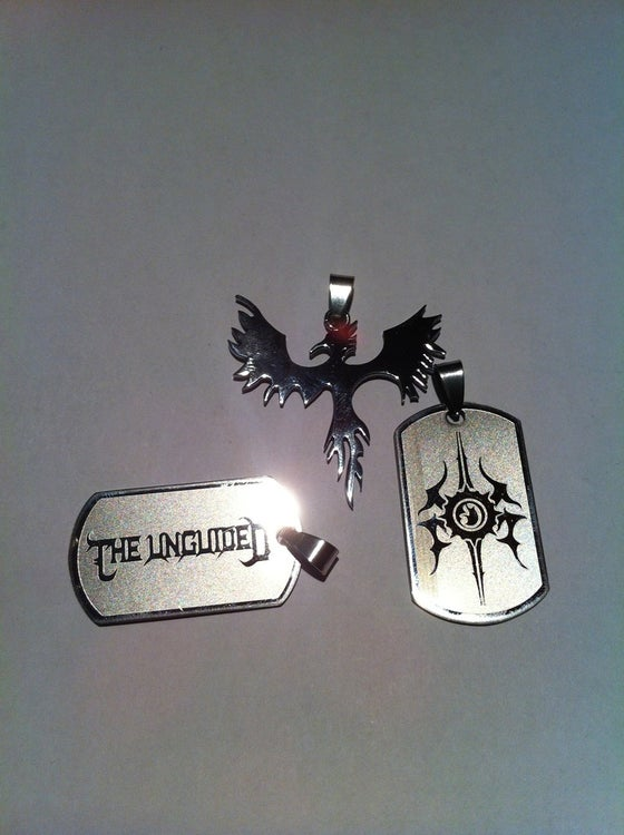 Image of The Unguided - Phoenix Down (Necklace)