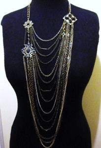 Image of Layered Jewelled Necklace - as seen on Amy Bangle #Girlfri3nds
