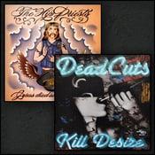 Image of Deadcuts/hip priests debut split 7 inch plus dropdown menu of other speedowax releases