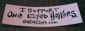 Image of One Eyed Hooker Sticker