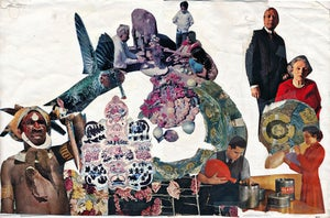 Image of Limited edition Collage Print