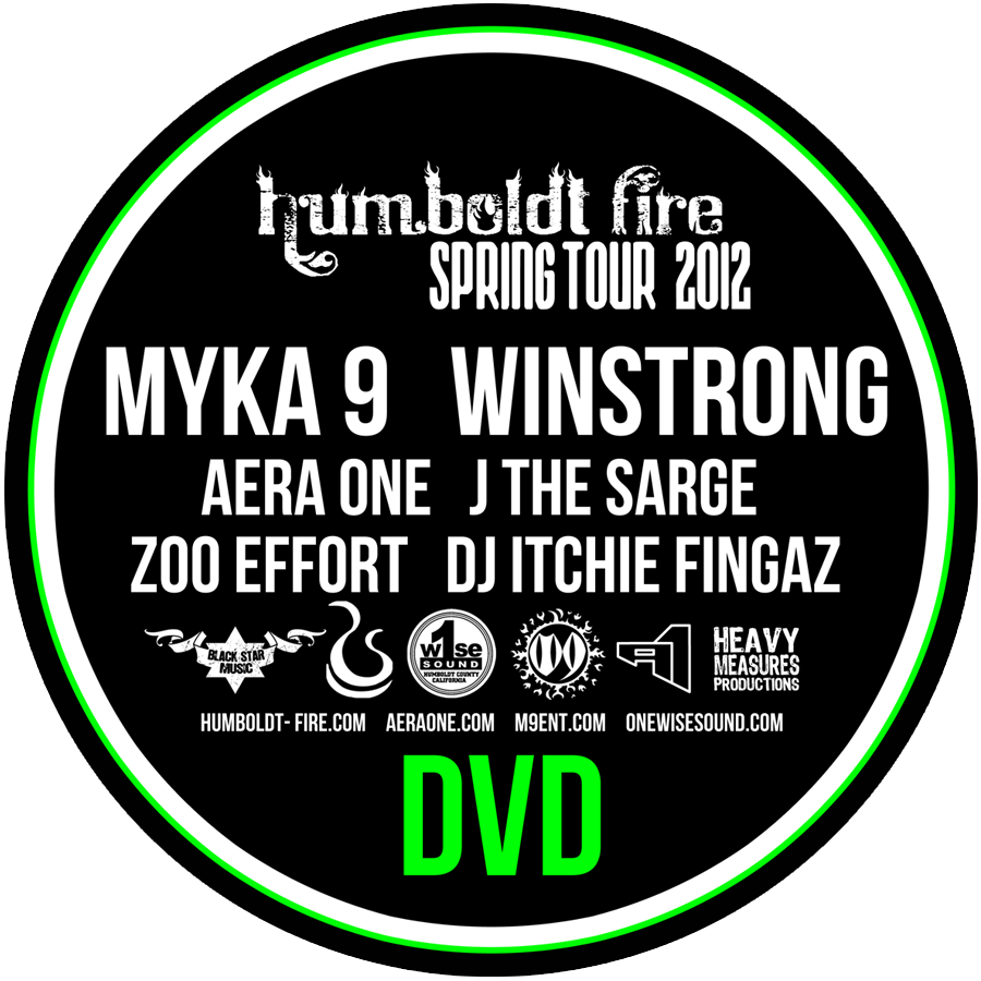 Image of Humboldt Fire Tour DVD