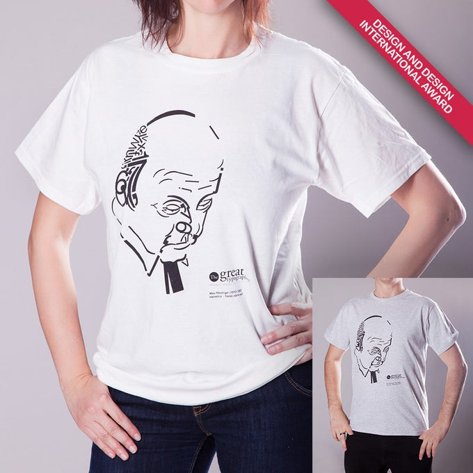 Image of The great typographers – Miedinger T-shirts