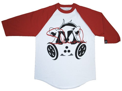Image of Signature Raglan | Red