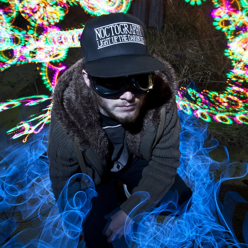 Image of Noctography - Light Up The Darkness - New Era Style Snap Back Cap
