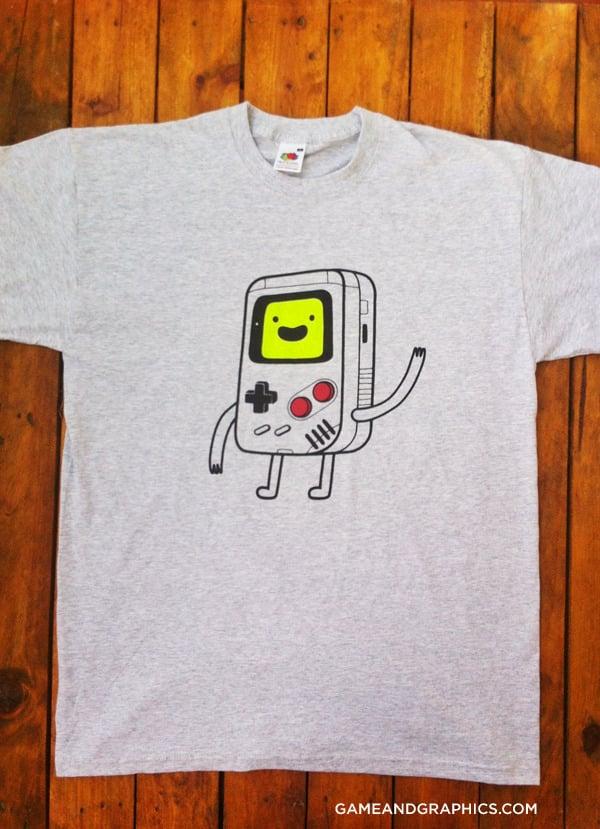 Image of Game Boy BMO t-shirt
