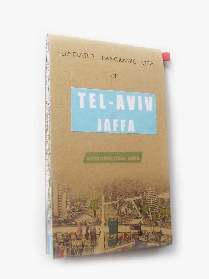 Image of Pictorial Panoramic View of Tel Aviv-Jaffa