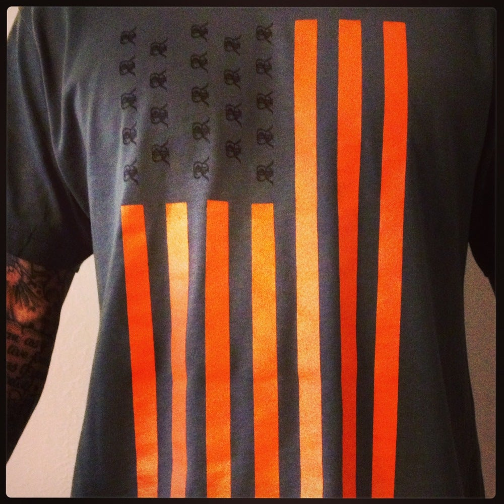Image of Reckless American (Black & Orange)