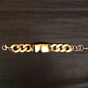 Image of I.Love I.D Cuban Link Bracelet