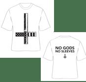 Image of No gods t-shirt