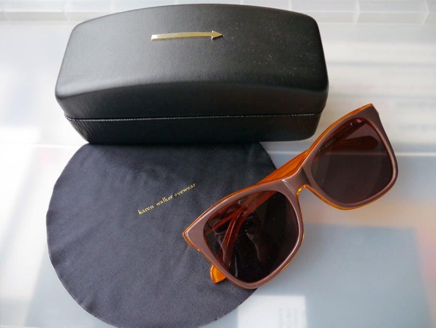 Image of KAREN WALKER Eyewear Perfect Day Sunglasses