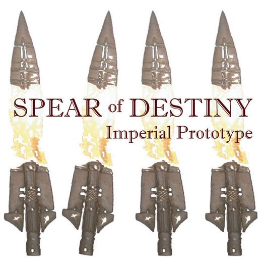 "SPEAR OF DESTINY  STUDIO ""Imperial Prototype"" CD"